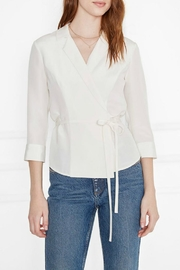 Anine Bing Ella Silk Top - Product Mini Image