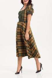 Voodoo Vixen Ella Tartan Dress - Product Mini Image