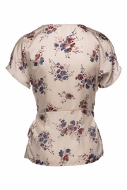 Ella B Floral Wrap Shirt - Front full body