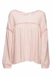 Ella B Gauzy Oversize Peasant Top - Product Mini Image