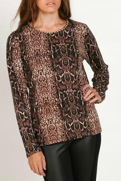 Shoptiques Product: Animal Print Top