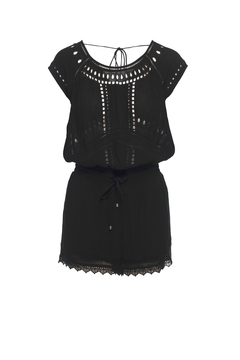 Ella Moss Broderie Anglaise Romper - Product List Image