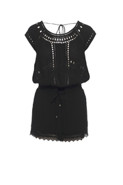 Ella Moss Broderie Anglaise Romper - Product Mini Image