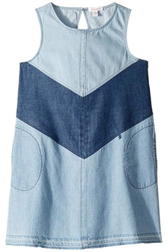 Ella Moss Colorblock Denim Dress - Product List Image