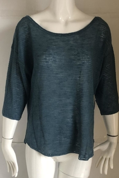 Ella Moss Cutout Scoop-Neck Sweater - Product List Image
