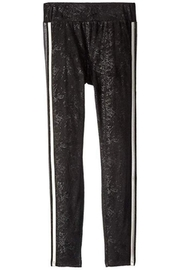 Ella Moss Metallic Trim Leggings - Front cropped