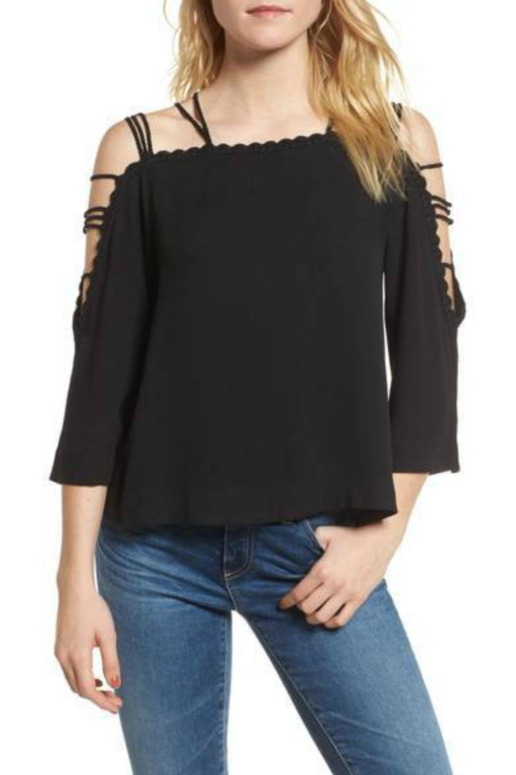 Ella Moss Stella Blouse - Front Cropped Image