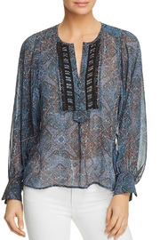 Ella Moss Tapestry Print Top - Product Mini Image
