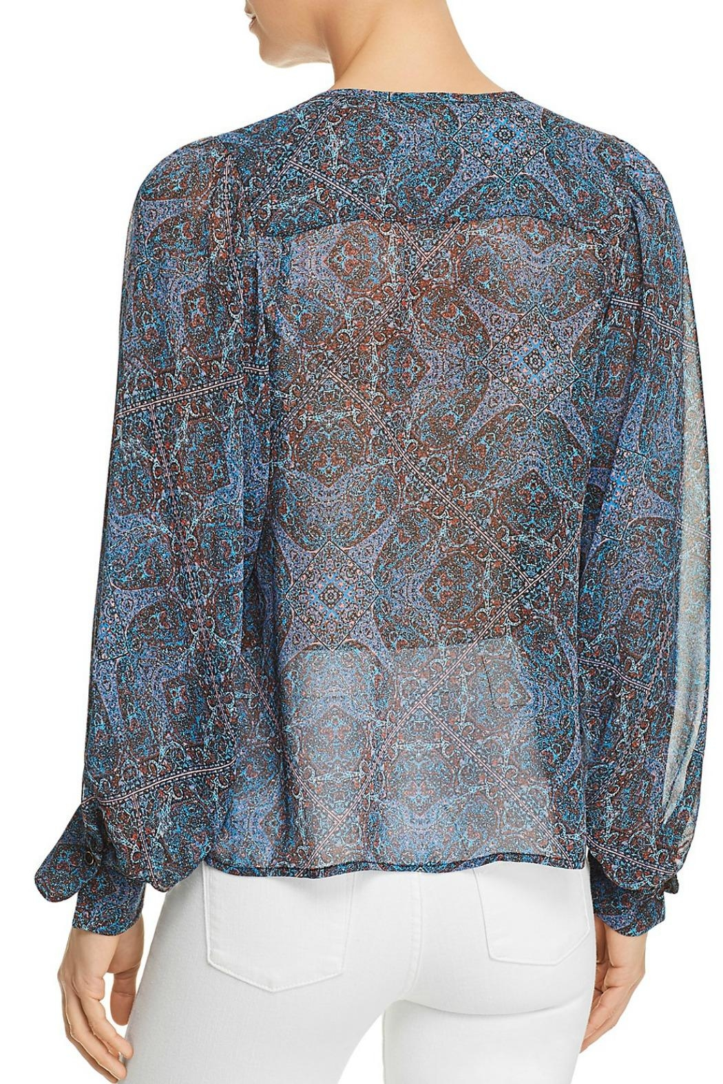 Ella Moss Tapestry Print Top - Front Full Image