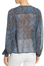 Ella Moss Tapestry Print Top - Front full body