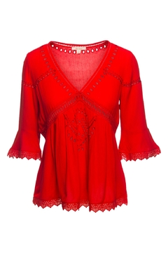Ella Moss Tigerlilly Eyelet Top - Product List Image