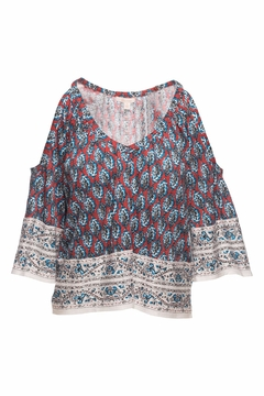Ella Moss Bordeaux Tapestry Top - Product List Image