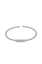 Elle Bar Cuff - Front cropped