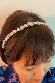 ellison & young Elle Jeweled Headband - Product Mini Image