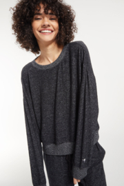 z supply Elle Marled Long Sleeve - Product Mini Image