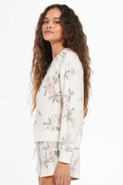 z supply Elle Spring Floral Top - Product Mini Image