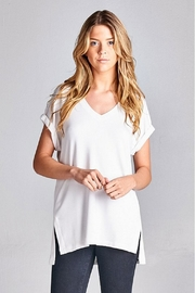 Ellison Elle V-Neck Top - Product Mini Image