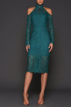 Elle Zeitoune  Vivian Jade Dress - Product List Image