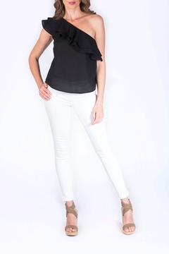 Shoptiques Product: Cora One Shoulder Top