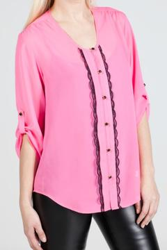Shoptiques Product: Pink Skylar Top