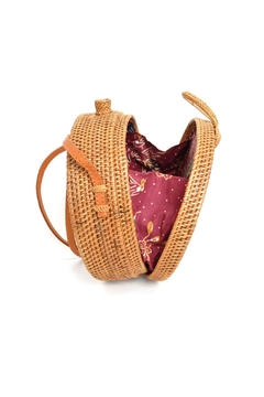 Ellen and James Round Straw Purse - Alternate List Image
