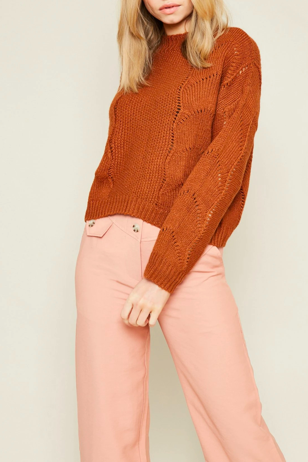 Native Youth Ellery Light Sweater - Main Image