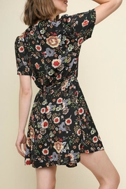 Umgee USA Ellie Floral Dress - Front full body