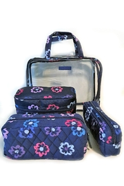 Vera Bradley Ellie Flowers 4pc-Organizer - Product Mini Image