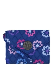 Vera Bradley Ellie Flowers Your-Turn-Wristlet - Product Mini Image