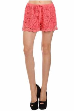 Ellie & Kate Drawstring Lace Shorts - Product List Image