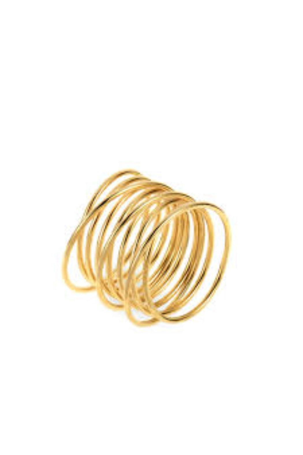 Ellie Vail Florence Coil Ring - Main Image