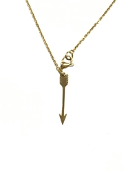 Ellie Vail Open Clover Necklace - Front full body