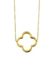 Ellie Vail Open Clover Necklace - Product Mini Image