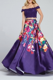 Ellie Wilde Dress Gown Set - Front cropped