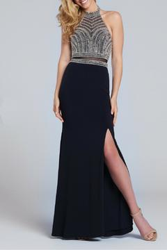 Shoptiques Product: Jersey Fit n Flare Halter