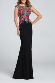 Ellie Wilde Jersey Sheath Gown - Product Mini Image