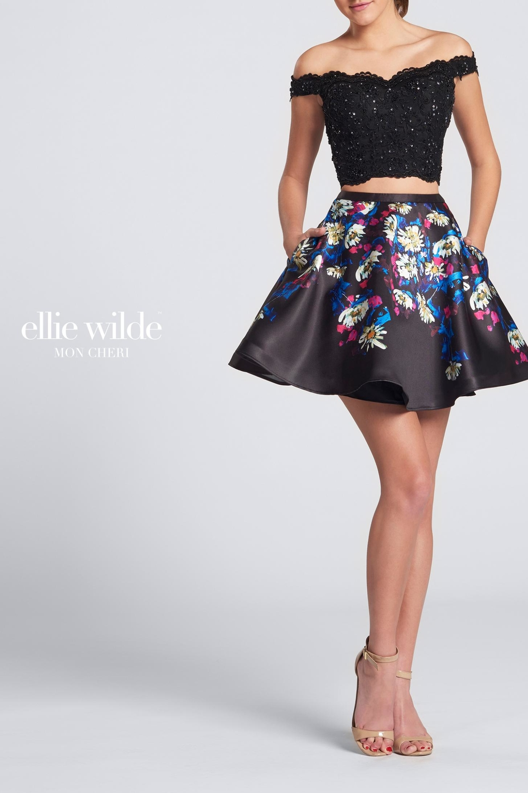 Ellie Wilde Off-The-Shoulder 2-Piece - Main Image