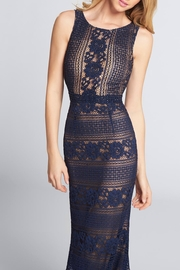 Ellie Wilde Sleeveless Lace Evening - Front cropped