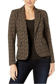 Elliott Lauren Animal Print Jacket - Front full body