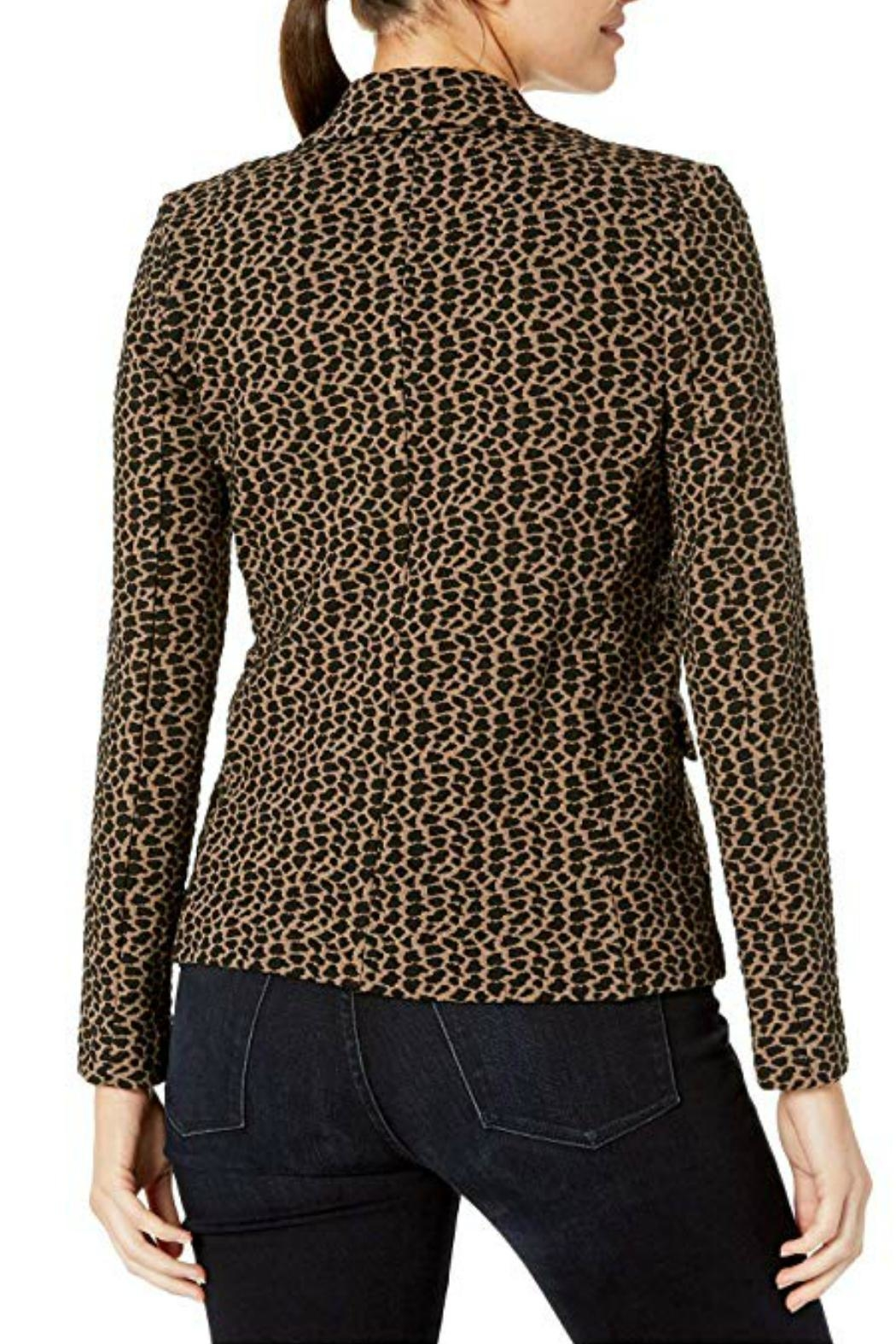 Elliott Lauren Animal Print Jacket - Back Cropped Image