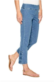 Elliott Lauren Button Ankle Denim - Product Mini Image