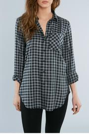 Elliott Lauren Check Tunic Shirt - Product Mini Image
