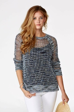 Elliott Lauren Fisherman Knit Sweater - Alternate List Image
