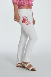 Elliott Lauren Floral Applique Jean - Product Mini Image