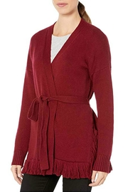 Elliott Lauren Fringed Cardigan - Front full body