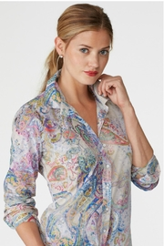 Elliott Lauren Kaleidoscope Print Blouse - Product Mini Image