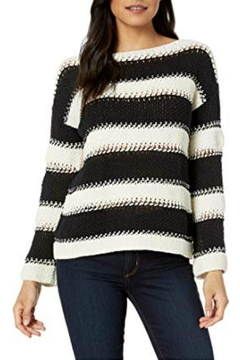 Elliott Lauren Stripe Knit Sweater - Alternate List Image