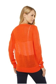 Elliott Lauren Tangerine Cardigan - Front full body