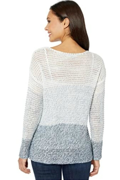 Elliott Lauren Varigated Wave Sweater - Alternate List Image