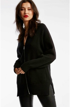 Shoptiques Product: Zip Front Cardigan